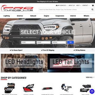 Halo Projector Headlights, Euro Headlights, Altezza Tail Lights, LED Tail Lights, Turbo Downpipe, Wheel Spacers - ProTuningLab.c