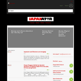 Japanator - news, reviews & community