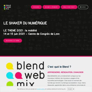 BlendWebMix - l`agitateur du numérique 14 et 15 juin 2021