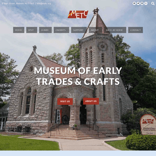 Museum of Early Trades & Crafts - Madison, NJ