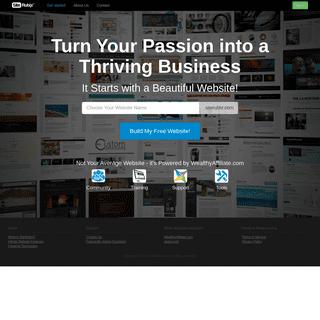 SiteRubix - Build Stunning Free Websites!