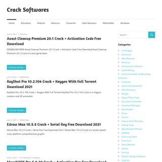 Crack Softwares - Review Based Software Website