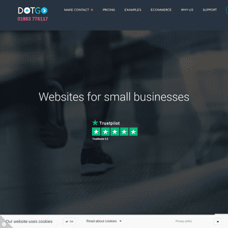 WebsiteDesign For Small Business In UK - DotGO