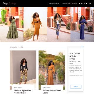 StylePantry – Daily outfits from Folake Kuye Huntoon