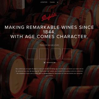 Penfolds - Wine Online - Exceptional Wine Portfolio