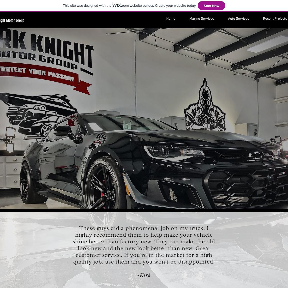 Elite Auto & Marine Detailers - Dark Knight Motor Group