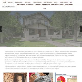 HOME - Highground Inc.