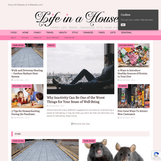 A complete backup of https://lifeinahouse.net