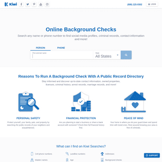 Instant Background Check - Find People, Numbers, & Addresses