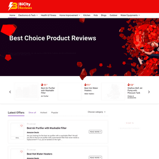 Best Reviews - Products for Reviews - Bicity Reviews