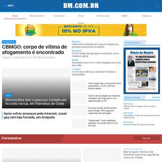 DM.COM.BR - O Jornal do leitor inteligente - Diário da Manhã