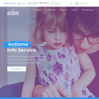 Autisme Info Service - Autisme Info Service