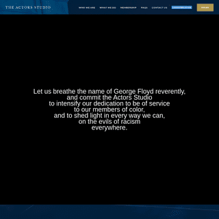 Home - The Official Site of The Actors Studio
