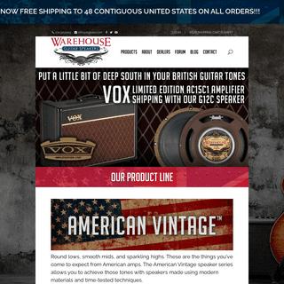 Home - Warehouse Guitar Speakers