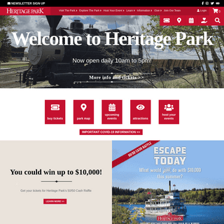 How the West Was Once - Heritage Park