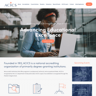 ACICS - Accrediting Council for Independent Colleges & Schools