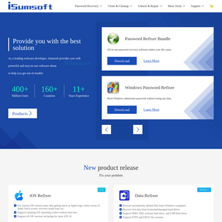 iSumsoft- Password Recovery, Data Recovery & Backup Tools for Windows