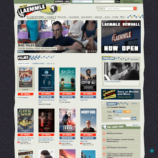 Welcome to Laemmle Theatres - Laemmle.com