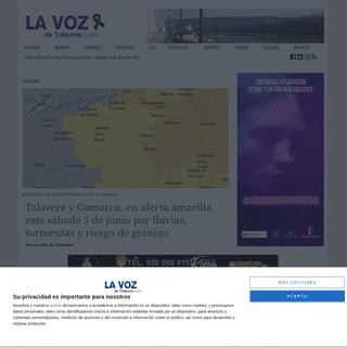 La Voz de Talavera - Informacion sobre Talavera de la Reina, provincia de Toledo y Castilla-La Mancha.