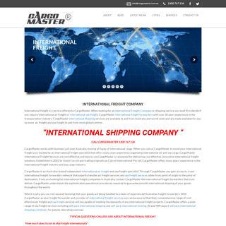 International Freight, International Shipping, Freight Forwarding Company - International Freight, Sydney, Melbourne, Brisbane,