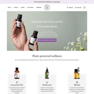 Essential Oils & More - Pure & Sustainable - aromatics.com