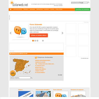 Energía solar - Solarweb.net