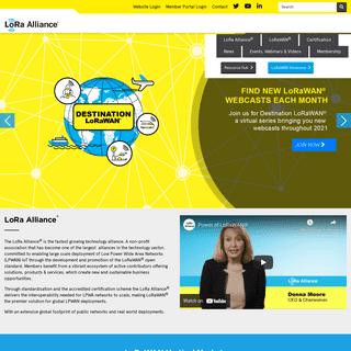 Homepage - LoRa Alliance®