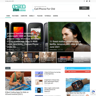 Enter21st.com - Latest Technology Point - News about Mobile, Computer and More