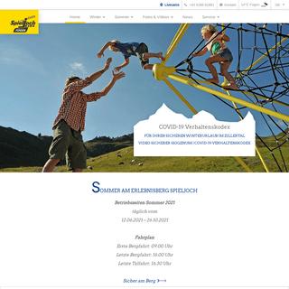 Das Familienerlebnis - Spieljoch im Zillertal - der Erlebnisberg im Sommer & Winter in Fügen