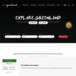 Greenland - The Official Tourism Site. Find your adventure here! - [Visit Greenland!]