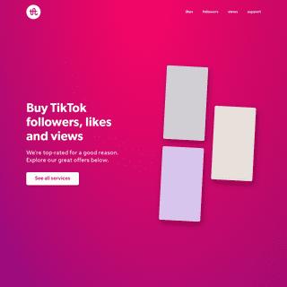 Celebian — Buy TikTok likes, followers & views
