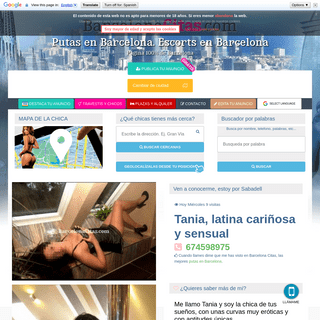 Tania, latina cariñosa y sensual - tel- 674598975 - Putas Barcelona citas