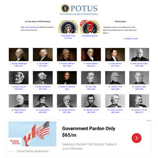 POTUS - Presidents of the United States