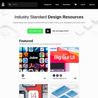 Apply Pixels ~ App Icons, UI Kits, Screenshot Templates and more