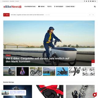 eBikeNews - das Magazin rund um E-Bike, Pedelec & Co. - ebike-news.de