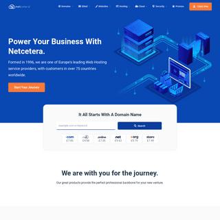 Netcetera - Web Hosting
