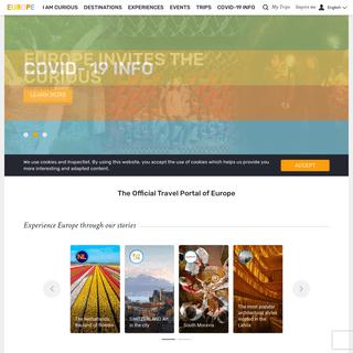 Visiteurope.com - Home - The Official Portal of Europe