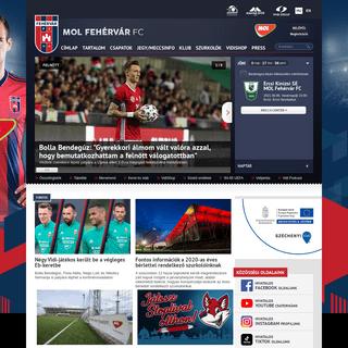 MOL Fehérvár FC hivatalos weboldala - Official website -... - molfehervarfc.hu
