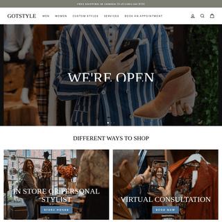 Designer Clothing for Men & Women – GOTSTYLE