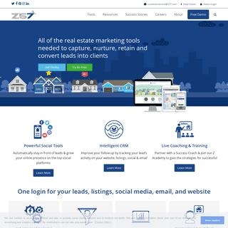 Z57.com - All-in-One Real Estate Marketing and Social Media Solutions
