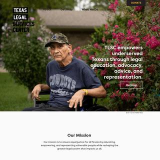 Free Legal Aid - Texas Legal Services Center