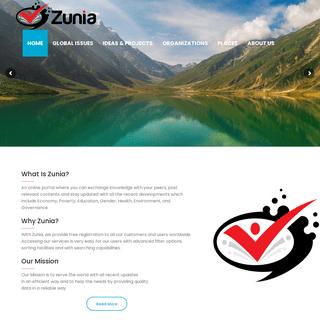 Home - Zunia.org