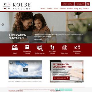 Home - Kolbe Academy