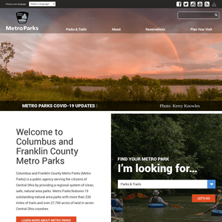 Metro Parks - Central Ohio Parks System