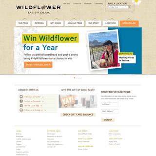Wildflower - Eat Sip Enjoy
