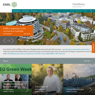 EMBL Heidelberg - The European Molecular Biology Laboratory