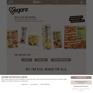 Veganz ♥ Veganer Genuss aus Berlin – Gut für dich, besser für alle ✓