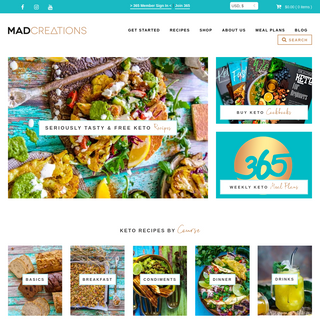 Keto Recipes & Ketogenic Diet Products - Mad Creations Hub