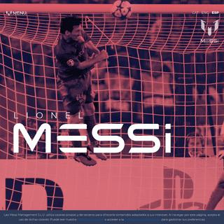 Web oficial Leo Messi – Web oficial de Lionel Messi, jugador del Futbol Club Barcelona y uno de los mejores jugadores del mund