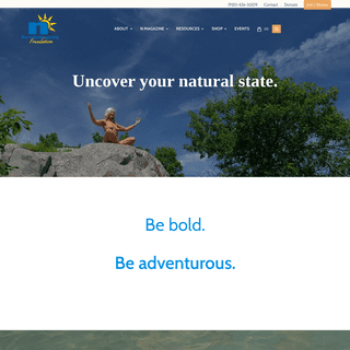 Uncover your natural state. - The Naturist Society Foundation